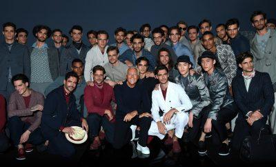 Giorgio Armani Menswear SS17_GA with models
