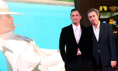 ROME, ITALY - OCTOBER 09: Actor Jude Law and director Paolo Sorrentino walk the red carpet at 'The Young Pope' premiere on October 9, 2016 in Rome, Italy.  (Photo by Elisabetta A. Villa/Getty Images)